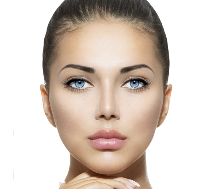 Lady with beautiful face showing Beauty Salon Wirral Face Treatments