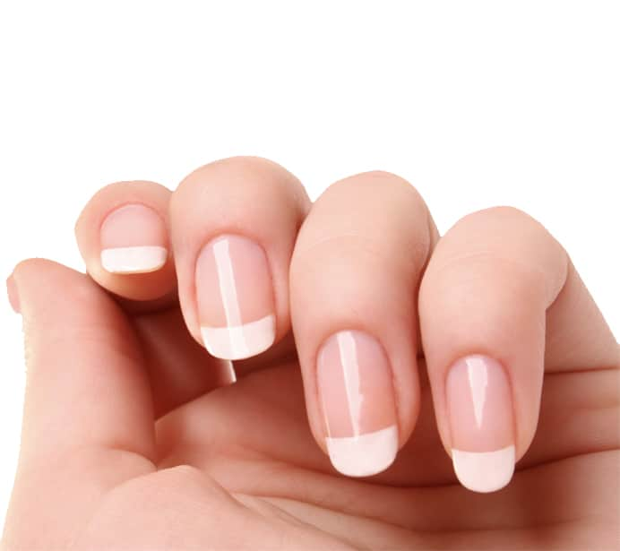 Beauty Salon Wirral showing close up of beautifully groomed nails