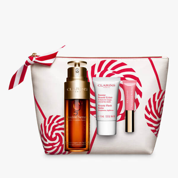 double serum collection in white bag